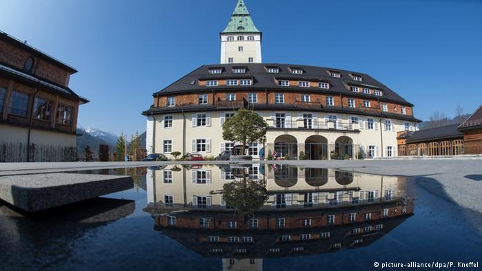 Замок Ельмау в Баварії, де пройде саміт G7